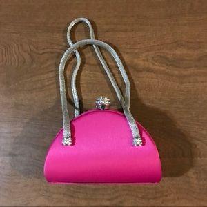 Daniella pink evening bag